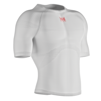 3D thermo  SS Tshirt White