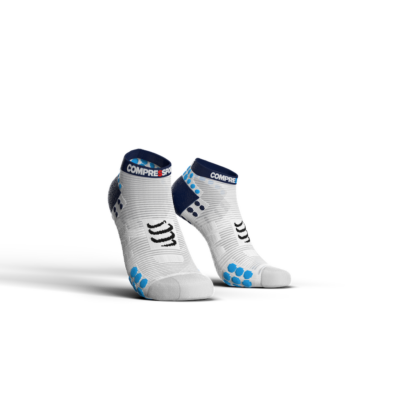Pro Racing Socks v3.0 Run Low White-Blue