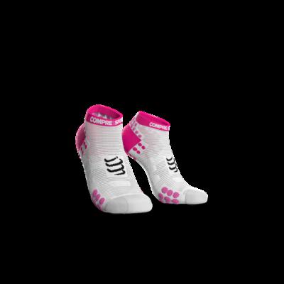 Pro Racing Socks v3.0 Run Low White Pink